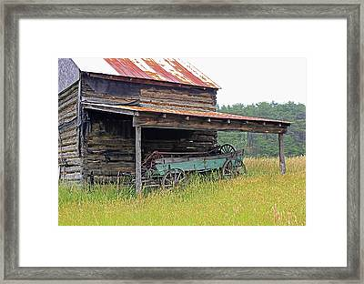 Another Time IIi Framed Print by Suzanne Gaff