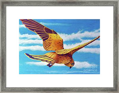 Another Way Framed Print by Brian Commerford
