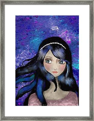 Anthem Framed Print by Yazmin Basa