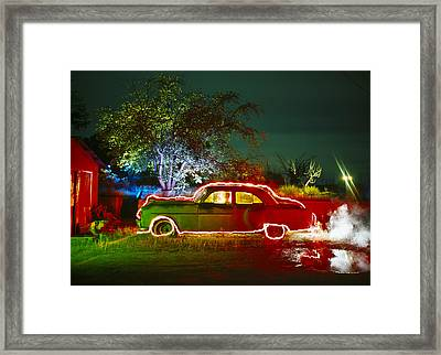 Anthonys Auto Framed Print by Garry Gay