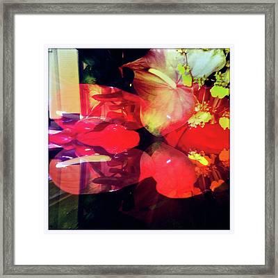 Anthurium Fantasy 2 Framed Print by Ann Tracy