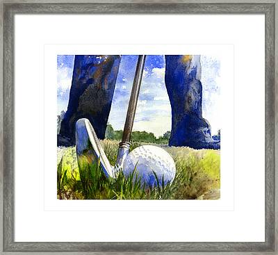 Anticipation Framed Print by Andrew King