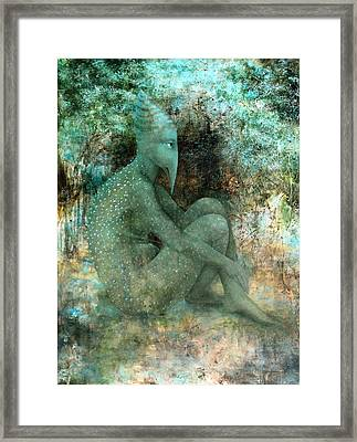 Anticipation Framed Print by Lolita Bronzini