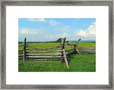 Antietam National Battlefield 01 Framed Print by Emmy Marie Vickers