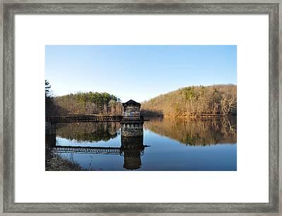 Antietam Creek Framed Print by Bill Cannon