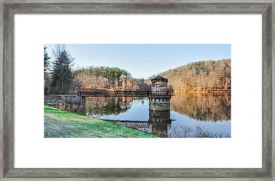 Antietam Creek Reading Pa Panorama Framed Print by Bill Cannon