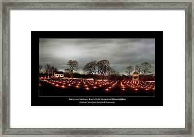 Antietam Panorama Framed Print by Judi Quelland