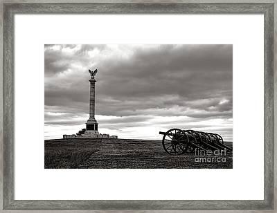 Antietam Silence  Framed Print by Olivier Le Queinec
