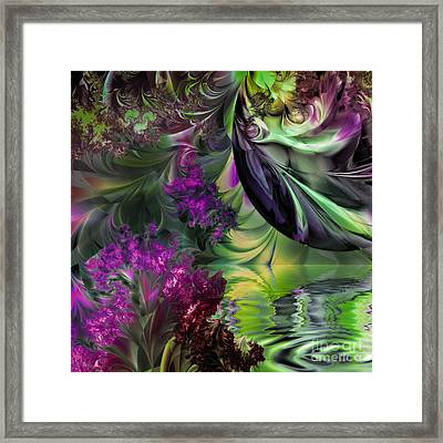 Antipodean Moonrise Framed Print by Mindy Sommers