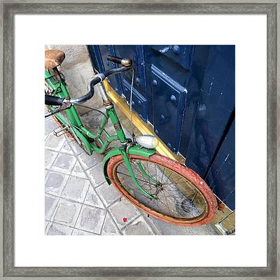 Antique Bicycle 2 Framed Print by Andrew Fare