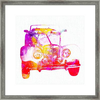 Antique Car Framed Print by Stacey Chiew