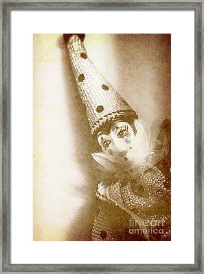 Antique Carnival Doll Framed Print by Jorgo Photography - Wall Art Gallery
