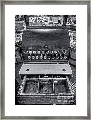 Antique Cash Register 1 Framed Print by James Aiken