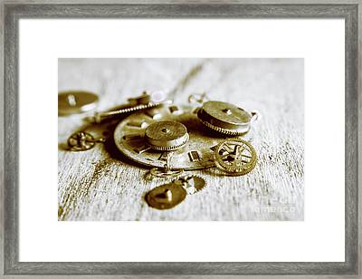Antique Factory Settings Framed Print by Jorgo Photography - Wall Art Gallery