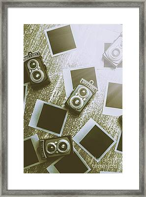 Antique Film Photography Fun Framed Print by Jorgo Photography - Wall Art Gallery