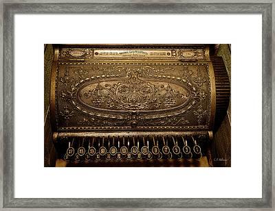 Antique Ncr Framed Print by Christopher Holmes