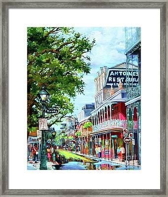 Antoine's Framed Print by Dianne Parks