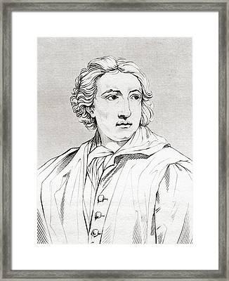 Anton Raphael Mengs, 1728 Framed Print by Vintage Design Pics