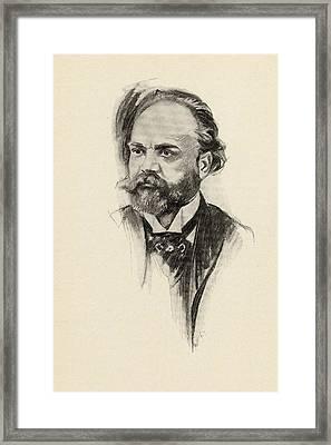 Antonin Dvor K, 1841-1904. Czech Framed Print by Vintage Design Pics