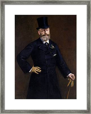 Antonin Proust Framed Print by Edouard Manet