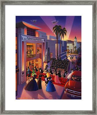 Ants Awards Night Framed Print by Robin Moline