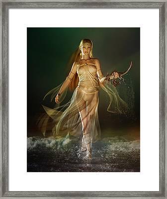 Aoife Framed Print by Mary Hood