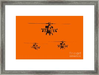 Apache Dawn Framed Print by Pixel  Chimp