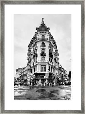 Apartment Vichy France Framed Print by Hugh Smith