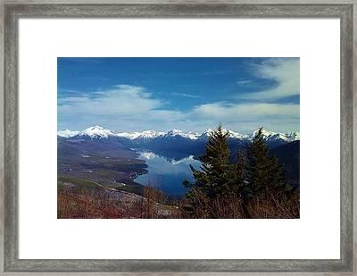 Apgar Lookout Framed Print by Eric Fellegy