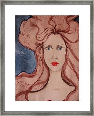 Aphrodite Framed Print by Lindie Racz