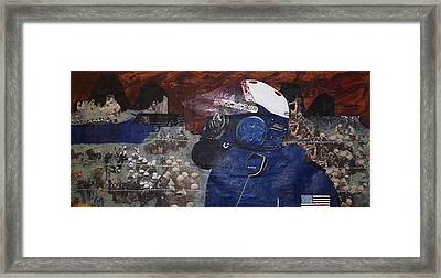 Apocalypse 2 Framed Print by William Douglas