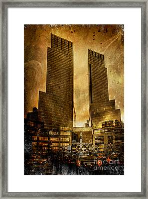 Apocalyptic Visions Framed Print by Evelina Kremsdorf