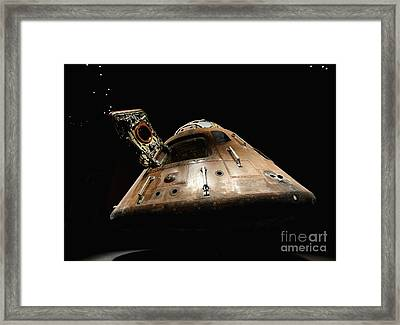 Apollo 14 Framed Print by Glennis Siverson