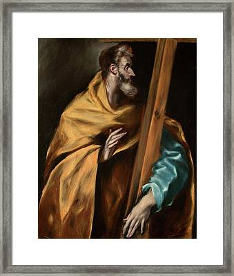 Apostle Saint Philip Framed Print by El Greco