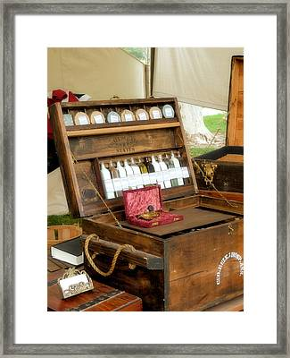 Apothecary Framed Print by Kieoh AB Cazden