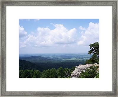 Appalachian Valley - 11 Framed Print by Donovan Hubbard