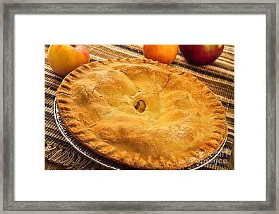 Apple Pie Framed Print by Elena Elisseeva