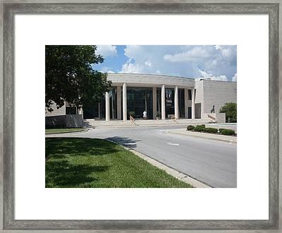 Appleton Museum Of Art Framed Print by Warren Thompson