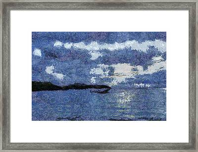 Approaching Storm Framed Print by Ashish Agarwal