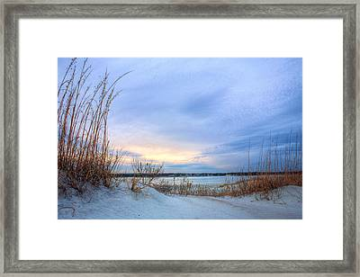 Approaching Storm Framed Print by JC Findley