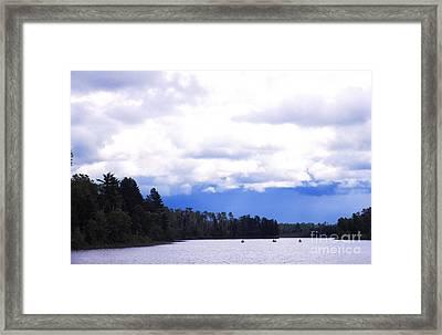 Approaching Storm Framed Print by Thomas R Fletcher