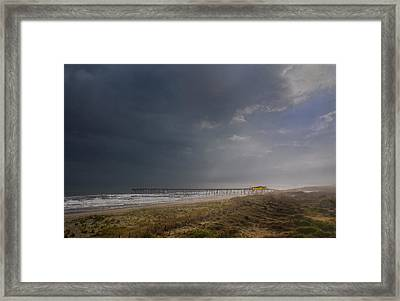 Approaching Thunderstorm Framed Print by Andreas Freund