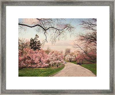 April In Bloom Framed Print by Jessica Jenney