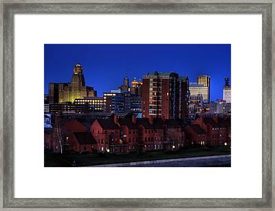 April Nighttime Framed Print by Don Nieman