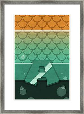 Aquaman Framed Print by Michael Myers