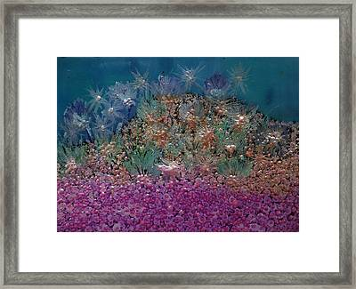 Aquarius Painting Framed Print by Don  Wright