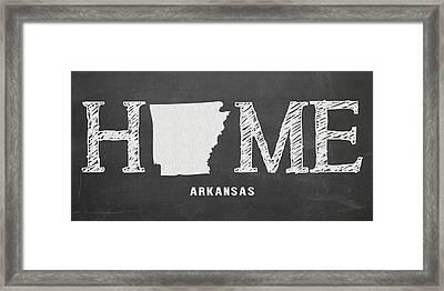 Ar Home Framed Print by Nancy Ingersoll