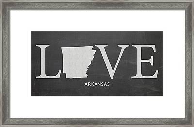 Ar Love Framed Print by Nancy Ingersoll