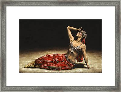 Arabian Coffee Awakes Framed Print by Richard Young