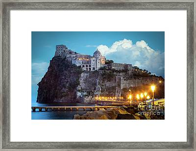 Aragonese Castle Framed Print by Inge Johnsson